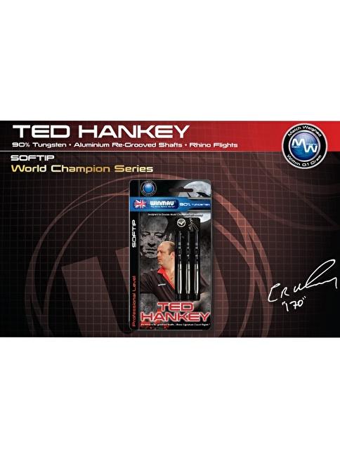 Winmau Ted Hankey % 90 Tungsten Plastik Uçlu Dart-18 Gram Renkli